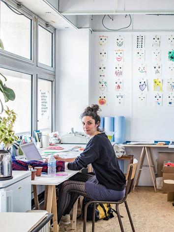 Claire Espinosa, (Studio W+E), Graphiste