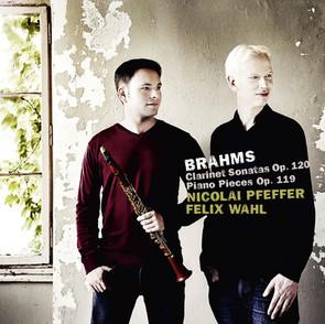 Brahms Clarinet Sonatas / Piano Pieces op. 119 ****