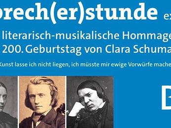 Eine literarisch-musikalische Hommage zum 200. Geburtstag von Clara Schumann