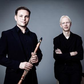 Das Risiko lohnt - Duo Wahl Pfeffer im Schumannhaus