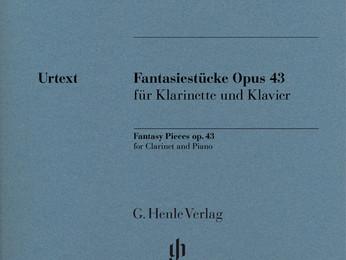 Gade : Fantasiestücke op. 43 pour clarinette et piano