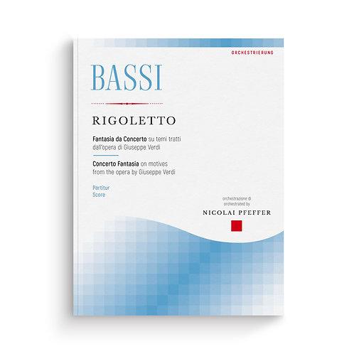 Luigi Bassi: RIGOLETTO FANTASY for Clarinet and String Orchestra (arr. Pfeffer)