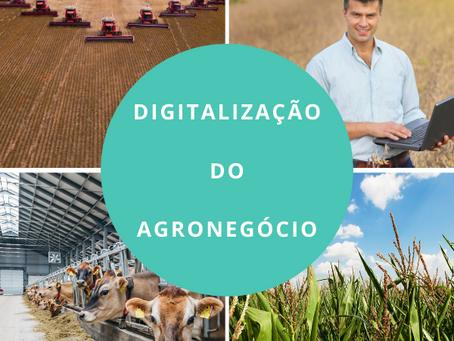 DIGITALIZAÇÃO DO AGRONEGÓCIO