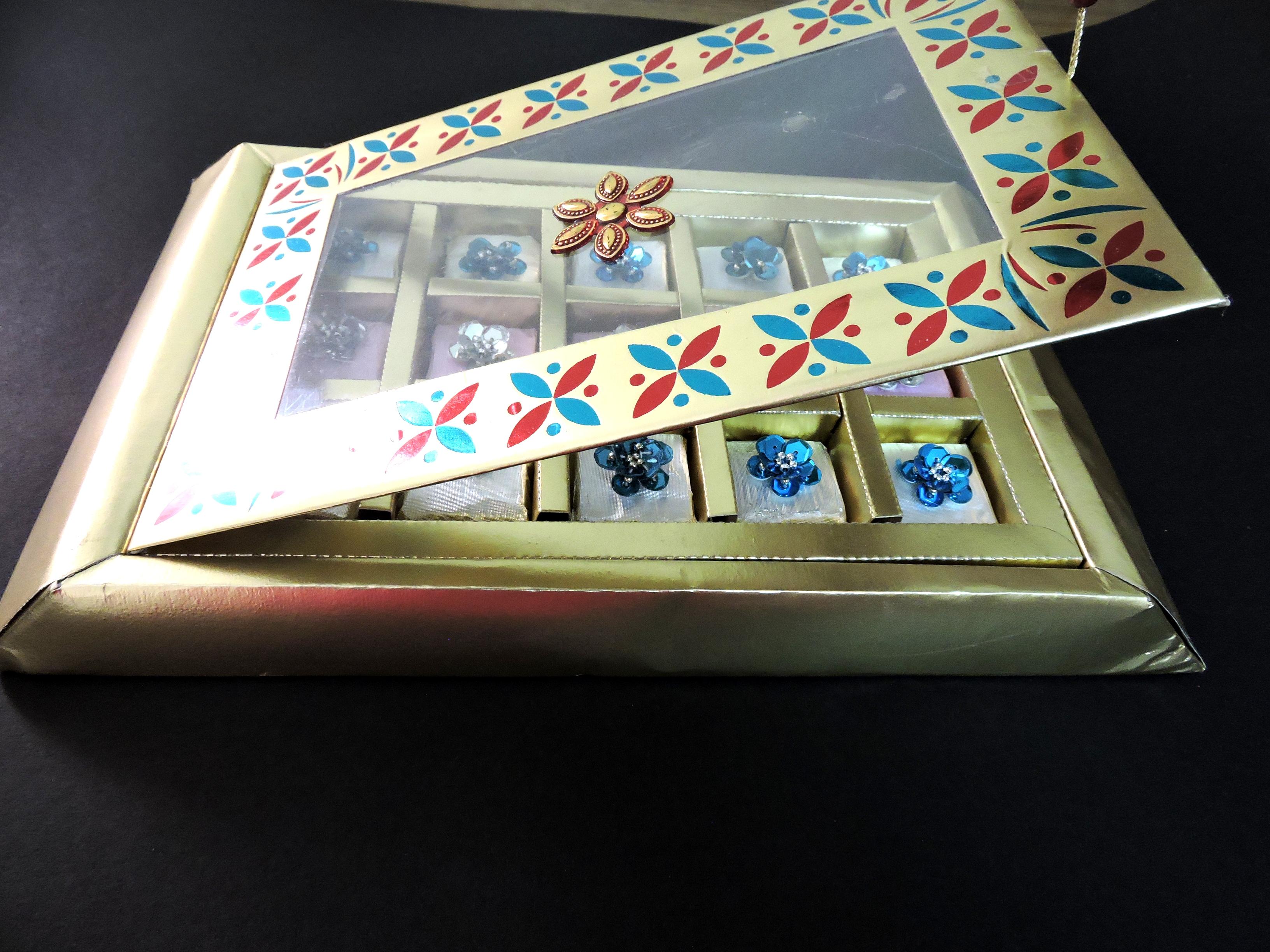 Designer Chocolate Box for Diwali