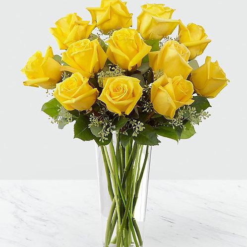 Yellow Roses - 12