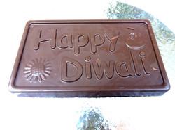 Happy Diwali Chocolate Bar