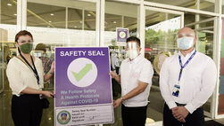 Over 45,000 establishments receive safety seals certifications