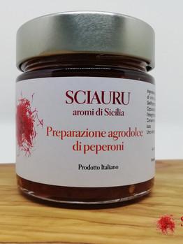 Preparazione agrodolce al peperone