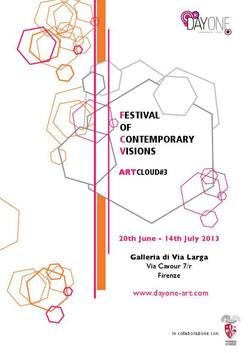 ArtCloud, Firenze