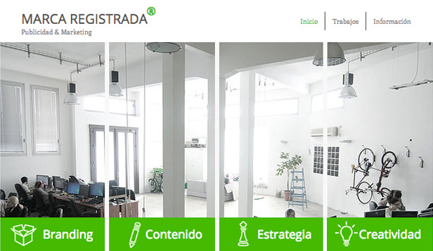Agencias website templates – Agencia de Publicidad y Marketing