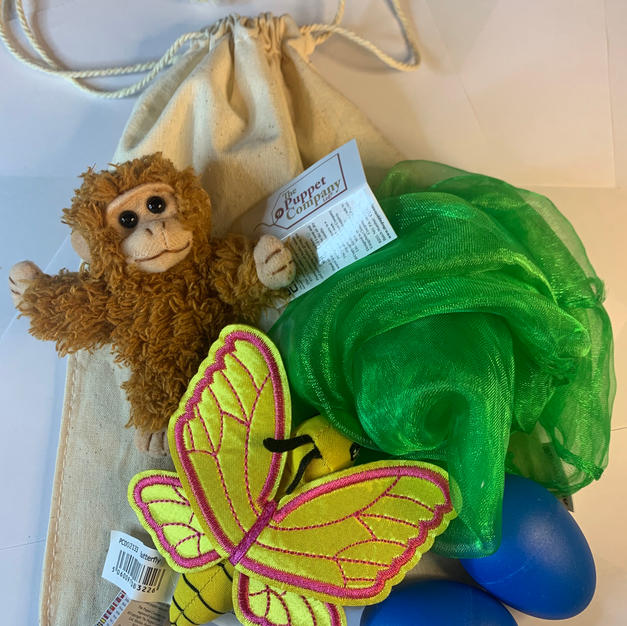 Monkey and Butterfly Story Bag £12.99