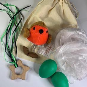 Green Robin Teether Bag  £12.99