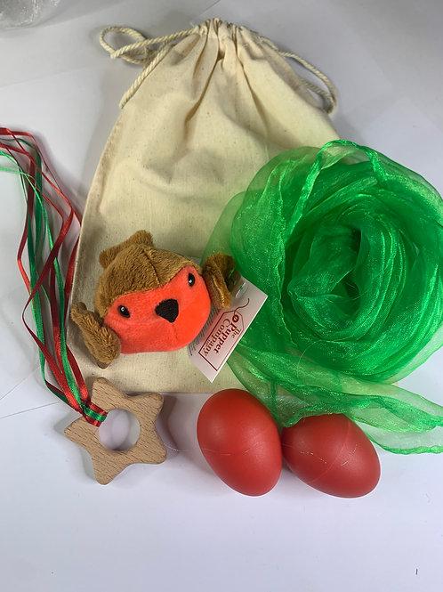 Christmas Robin Red