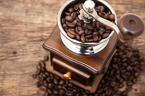 新鮮なコーヒー豆