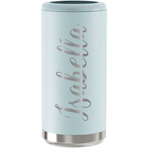 Skinny Can Cooler - Matte Seaglass