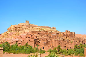 Ait Benhaddou UNISCO world heritage site and the gate to the Morocco Sahara/desert.