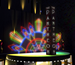 Pantheon Marquee