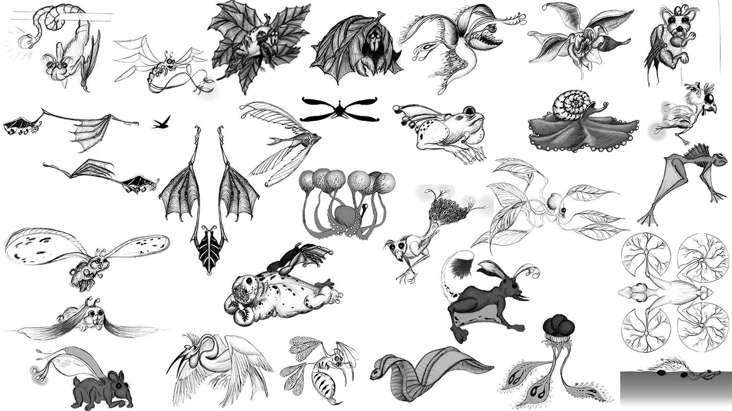 Swamp-Creatures