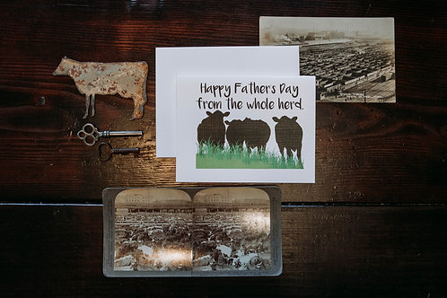 happy mother's day from the whole herd