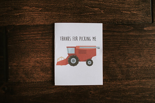 thanks for picking me-red-wholesale
