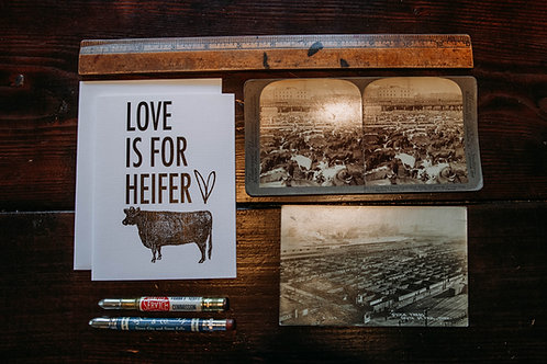 Love is for heifer.-wholesale