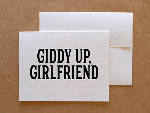 giddy up, girlfriend-wholesale