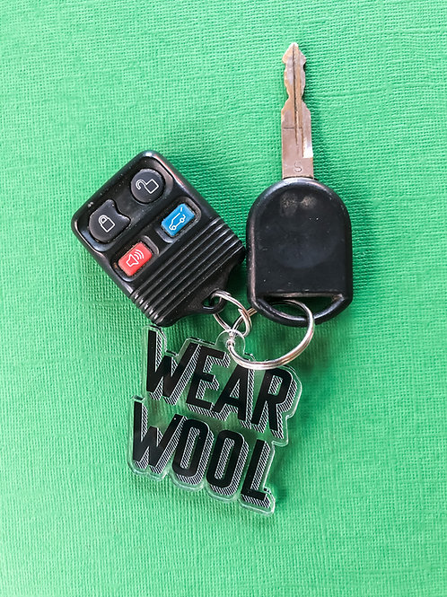 WEAR WOOL Keychain