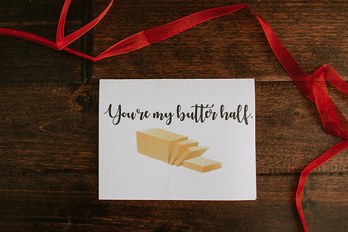 You're My Butter Half-wholesale