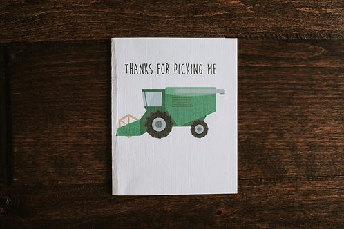 thanks for picking me-green-wholesale