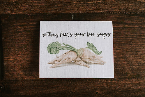 nothing beets your love, sugar-wholesale