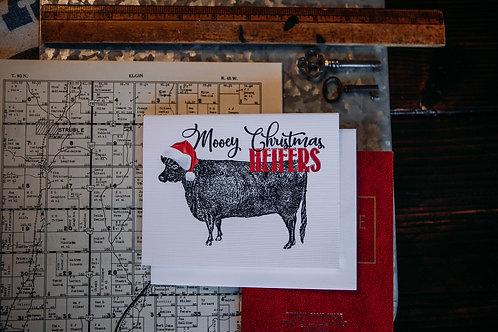 Mooey Christmas, heifers