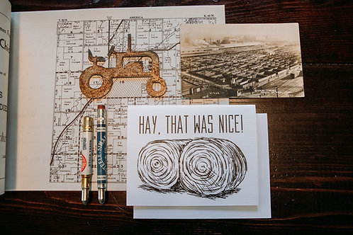 Hay, that was nice!