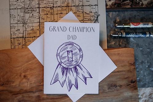 Grand Champion Dad