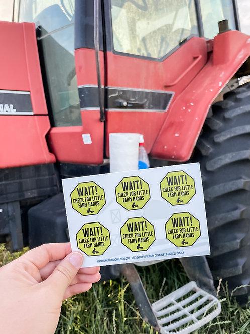 Mini Equipment Stickers