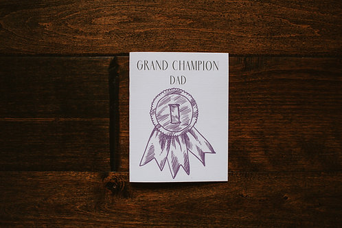Grand Champion Dad-wholesale