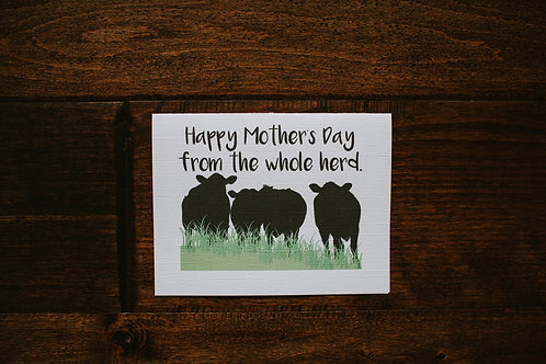 happy mother's day from the whole herd-wholesale