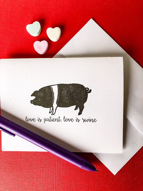 love is patient, love is swine-wholesale