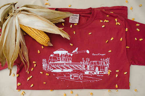 """""""Harvest Supper"""" Graphic Long-Sleeve T"""