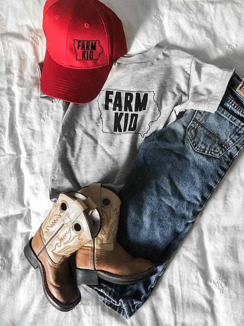 Iowa Farm Kid Graphic T