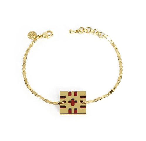 Bracelet BITMAP [P2_rouge]