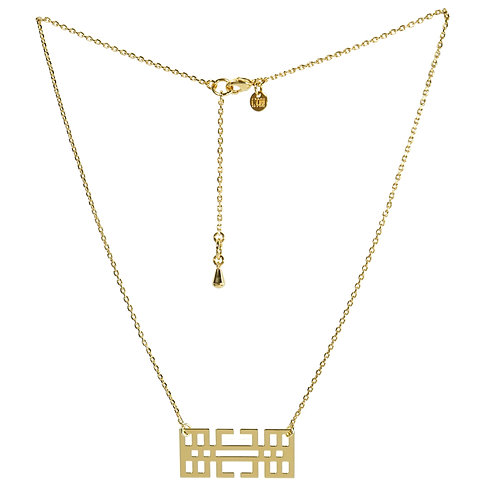 Duo n°1 BITMAP : le collier [3] + le bracelet [3]