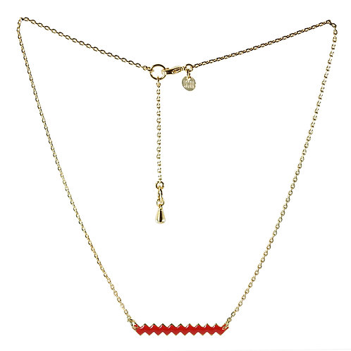 Collier ZIG [rouge]