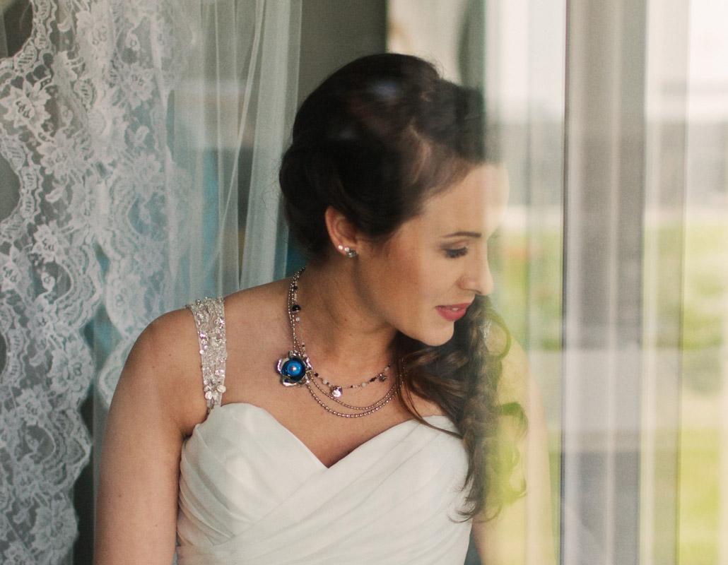 collier fantaisie mariée, boho