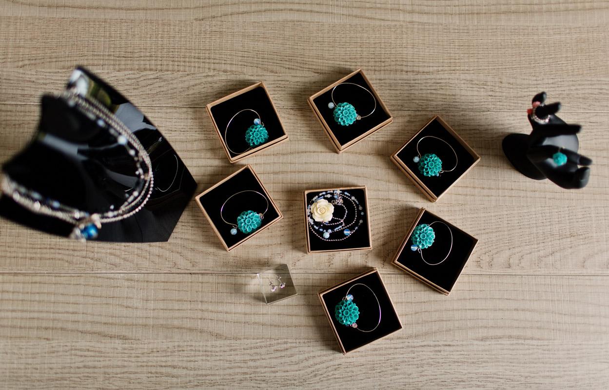 bracelet témoins mariage, perles