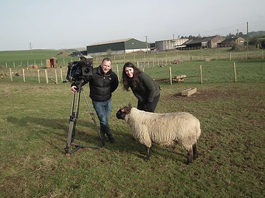 We had a grand day filming at The Maggie