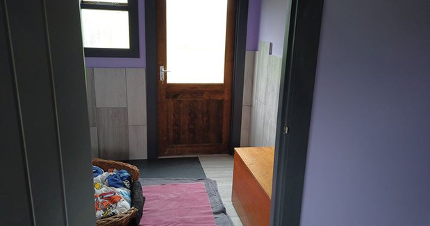 Finished bedroom