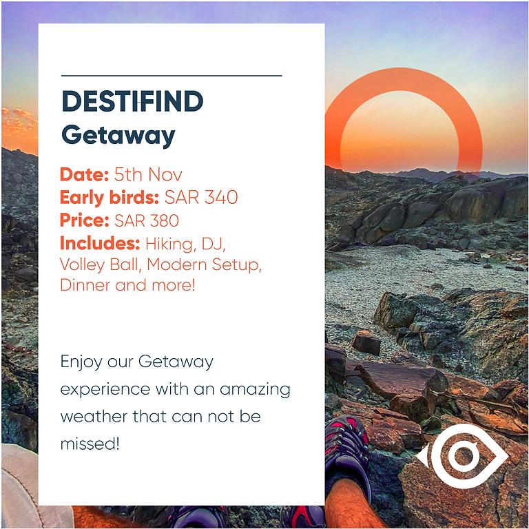 DESTIFIND Getaway