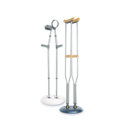 Crutch Caddy: A Crutch Holder