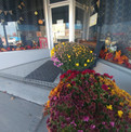 Flowers at Christie's Kitchen