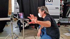 Kirk Zeller on Set of MyCorona Movie Fil